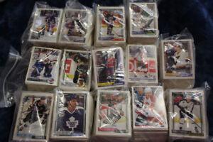 Cartes de hockey environ 1500 cartes très bon état