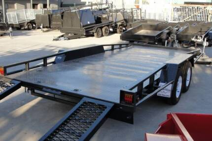 16x6'6 Semi Flat Top Car Carrier - Winch - 2800kg GVM Thomastown Whittlesea Area Preview