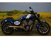 Victory Judge 2015 **LOW MILEAGE, SERVICE HISTORY, CUSTOM STYLE EXHAUST**