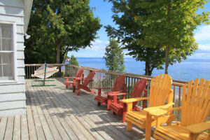 Cabot Head Waterfront Cottage Rental
