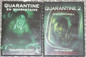QUARANTINE 1 & 2 movie lot