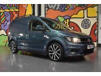 2016 VW CADDY C20 2.0TDI 160PS HIGHLINE LV SPORTLINE PACK BAMBOO GREEN
