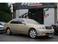Lexus LS 430, 03 Reg, 100k, Gold, Big Spec, Full Lexus Service History.
