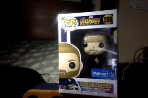 Captain America (Infinity War) Walmart Exclusive (299) (Shield)