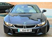 2018 BMW i8 1.5 11.6kWh Auto 4WD (s/s) 2dr Coupe Petrol Plug-in Hybrid Automatic