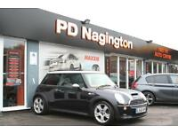2006 MINI HATCHBACK 1.6 Cooper S + FULL BLACK LEATHER + PAN ROOF + XENONS + FSH