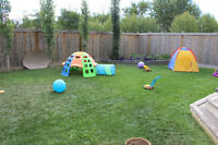 Spruce Grove Day Home with 2 Full Time Spots