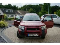 Freelander 1 top of the range diesel vgc new m o t full service history t d 4 2.0 l £3,000
