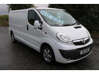 2013 VAUXHALL VIVARO EXCELLENT CONDITION *NO VAT* LOW MILES PLY LINED AIR CON