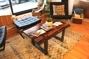 Rustic Coffee Tables for Sale - Reclaimed Wood Coffee Table