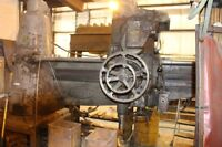 6' radial arm drill press in working order