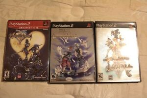 Kingdom Hearts 1 (BRAND NEW), 2 and Chain of Memories Windsor Region Ontario image 1