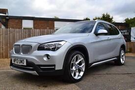 2013 BMW X1 2.0 XDRIVE 20D XLINE AUTOMATIC SILVER ESTATE DIESEL