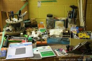 Assorted Hardware, Tools, And Utility Items