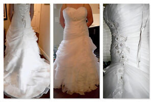 WEDDING DRESS-TAGS STILL ATTACHED!