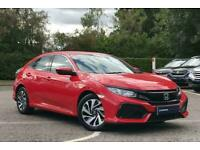 2017 Honda Civic Se Vtec Cvt Automatic Unknown Petrol Automatic