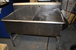 Stainless Steel Sink double industrial