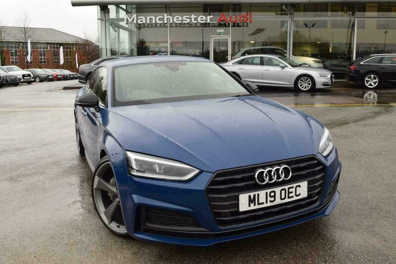 2019 Audi A5 Sportback Black Edition 40 TDI 190 PS S tronic Diesel blue  Semi Au | in Salford, Manchester | Gumtree