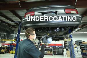 Vehicle Undercoating