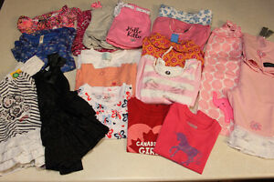 Little Girl clothing lot,size 24 and 2T.