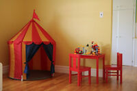 Childcare Spaces Available at Sunsine House!