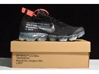 Nike Off White Vapormax Black - ALL SIZES