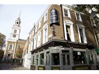 Part time bar staff wanted; Central London