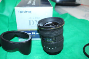 like new TOKINA AF 12-24 mm F4 atx SD Lens for canon