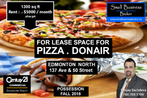 PIZZA & DONAIR BUSINESS OPPURTUNITY