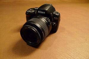 Nikon D40 and Nikon 18-55 DX SWM ED lens