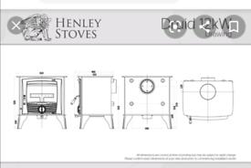 Henley druid 12 boiler stove