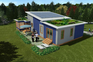Steel Frame Custom Modular Home 3 BR with Garage GreenTerraHomes