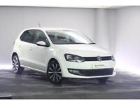 2013 Volkswagen Polo 1.4 (85ps) Match Edition 5-Dr Petrol white Manual