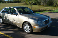 2001 Mercedes-Benz E-Class Sedan