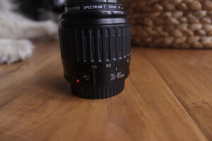 Canon 35-80mm lens with Autofocus and a UV filter