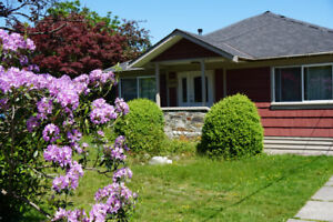 3 bdrm Classic Downtown Squamish Home w/large backyard.