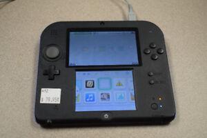 Nintendo 2DS Handheld System Black/Blue FTR-001