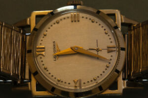 longines mid 50s Art Deco mechanical