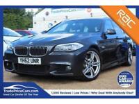 2012 62 BMW 5 SERIES 2.0 525D M SPORT TOURING 5D 215 BHP DIESEL