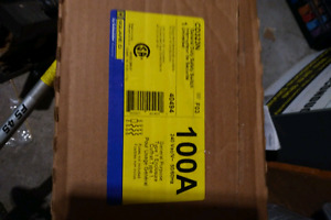 BNIB 100 Amp, Square D, General Duty Safety switch