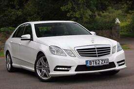 2013 MERCEDES E-CLASS E220 CDI BLUEEFFICIENCY S/S SPORT SALOON DIESEL