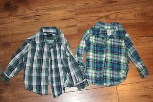 18 Month button up shirts
