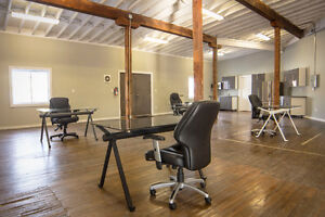 Open Concept Office with boardroom FREE parking