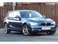 2013 BMW 1 SERIES 116I 1.6 SPORT 3DR HATCHBACK PETROL