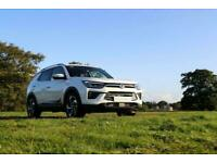 2020 Ssangyong Korando x demo 1.6 D Pioneer 4x4 Auto Two Ton towing capability