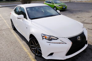2015 Lexus IS 250 AWD F-Sport LOW KMS!