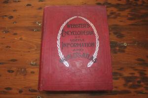 Webster's Encyclopedia of Useful Information - 1897