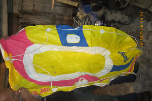 Inflatable Boat with Oars London Ontario image 1