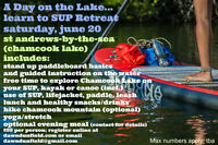Stand Up Paddleboard Day Retreat!