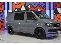 2016 VW TRANSPORTER T6 T30 SWB TDI 160PS KOMBI DAY VAN LV SPORTLINE PK PURE GREY